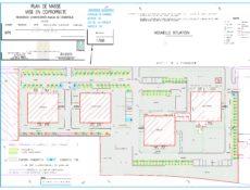 Plan de masse résidence Chantegrive