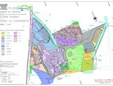 Plan de masse résidence Les Myrthes