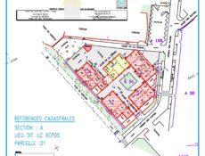 Plan de masse résidence Les Pignes 2
