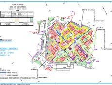Plan de masse résidence Les Pignes 1