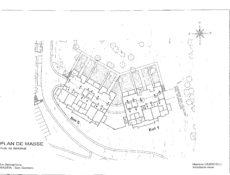 Plan de masse résidence Sémaphore