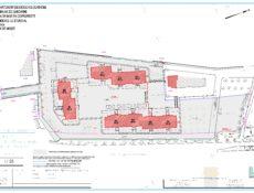 Plan de masse résidence Le Stendhal