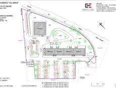 Plan de masse résidence Val Marie