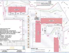 Plan de masse résidence accession sociale Les Calanques